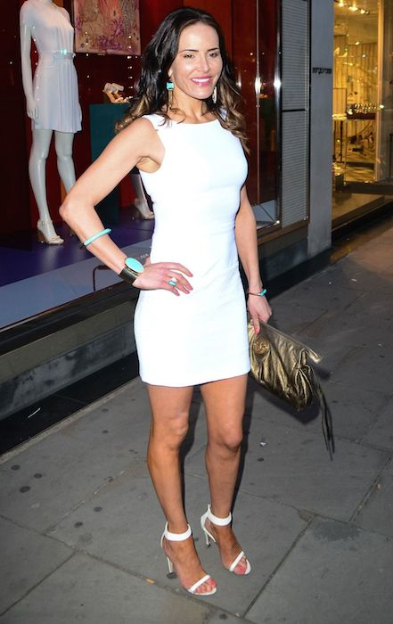 Sophie Anderton at Baileys Feaster Egg Hunt at Harvey Nichols in London in April 2014.