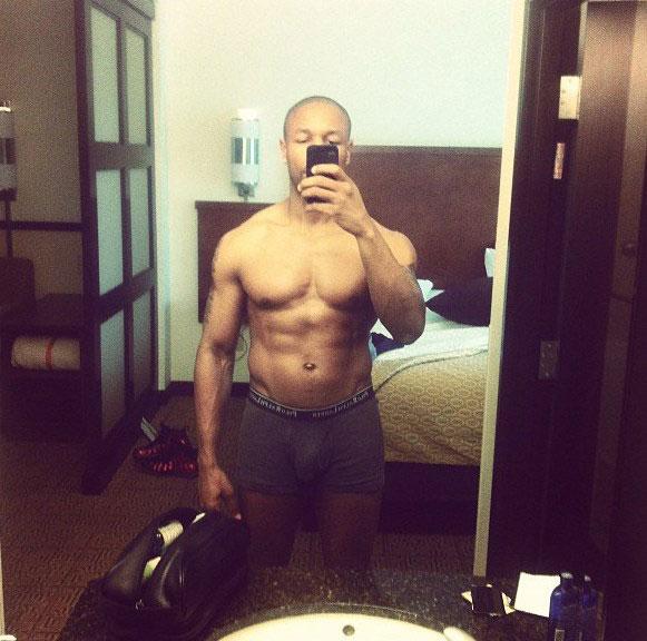 Tank shirtless