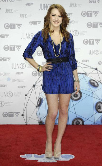 Victoria Duffield at Juno Awards 2012