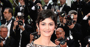 Audrey Tautou at 2014 Cannes Film Festival Opening Ceremony