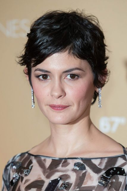 Audrey Tautou at opening Ceremony Dinner during 2014 Cannes Film Festival.
