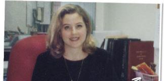 Belinda Benn in her 30s.