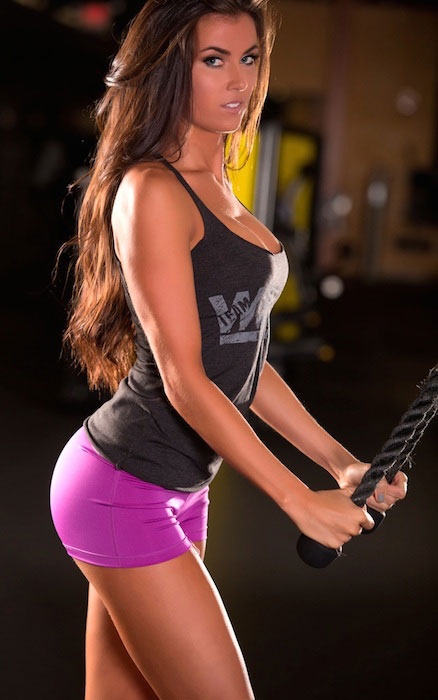 Colleen Gallagher triceps workout.
