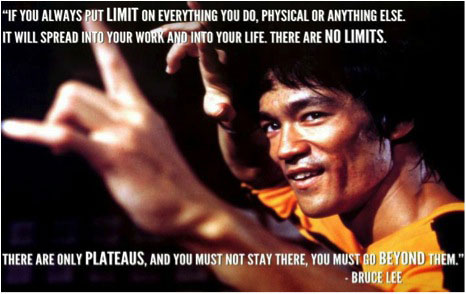 Don't put limit on what you do