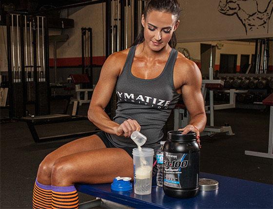 Erin Stern diet - taking supplements