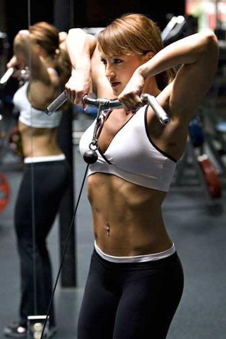 Erin Stern shoulder workout