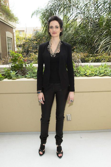 "Eva Green during ""300: Rise of an Empire"" Press Conference at the Four Seasons Hotel in March 2014."