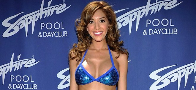 Farrah Abraham workout