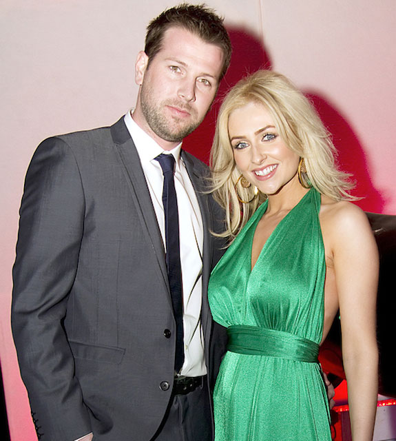 Gemma Merna and Ian Minton at the launch party of The Closet Liverpool at Circo Liverpool.