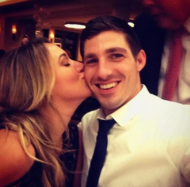 Haylie Duff and her fiance Matt Rosenberg