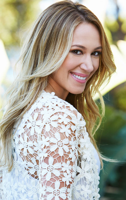Haylie Duff smiling