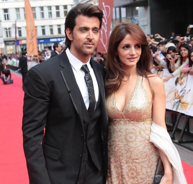 Hrithik Roshan and ex-wife Sussanne Khan.
