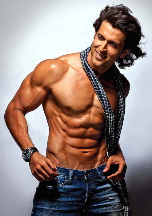 Hrithik Roshan shirtless body