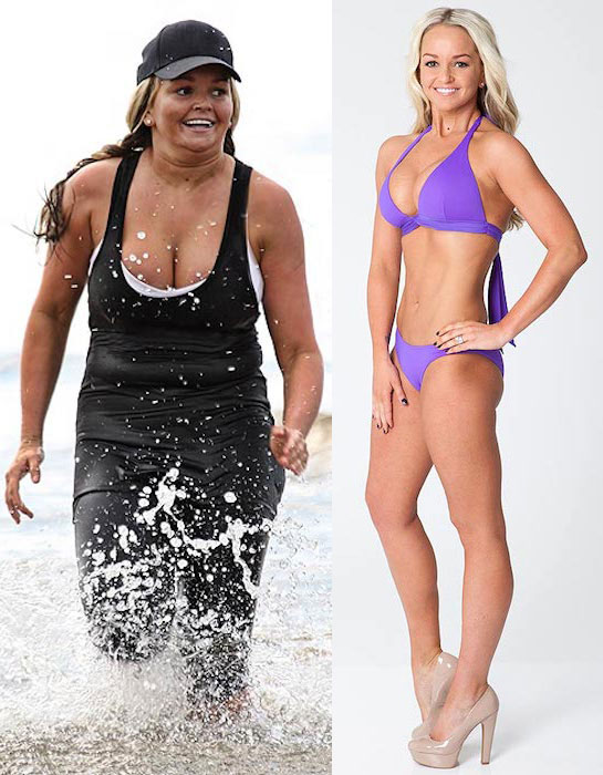 Jennifer Ellison dramatic weight loss