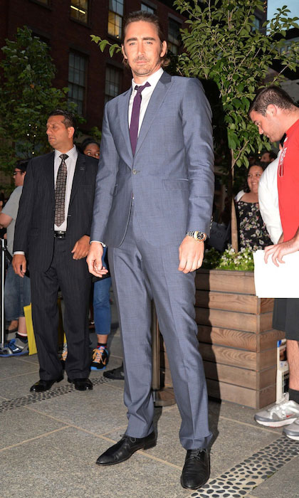 Lee Pace at the screening of Marvel's 'Guardians of the Galaxy' at Crosby Street Hotel.