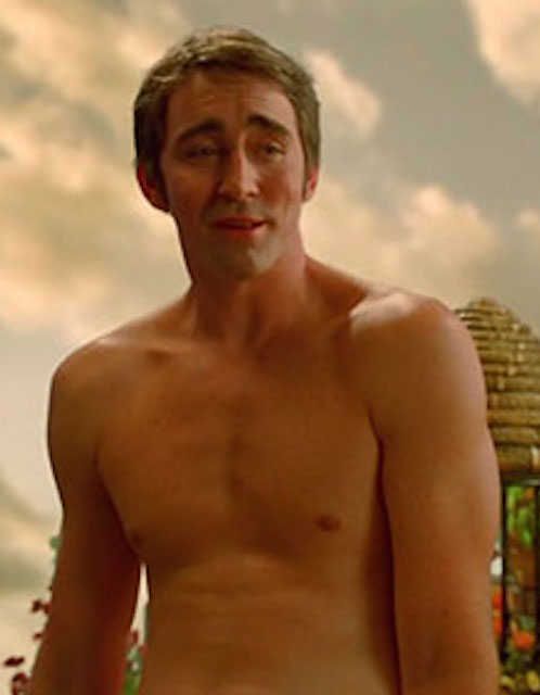 Lee Pace shirtless