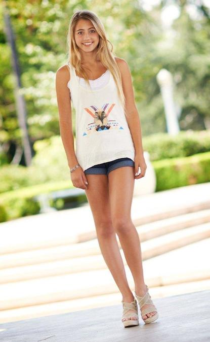 Lia Marie Johnson hot long legs