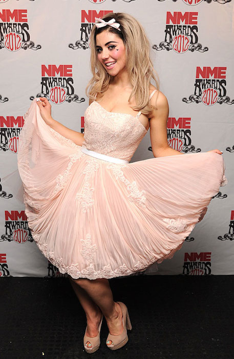 Marina Diamandis at the NME Awards 2012.