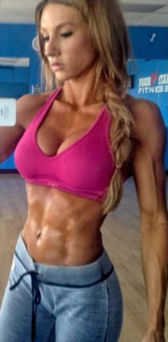 Paige Hathaway abs