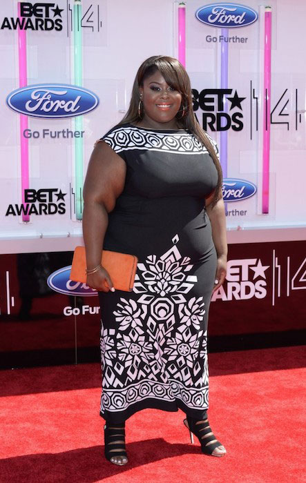 Raven Goodwin arrives at 2014 BET Awards in Los Angeles, California on June 29, 2014.