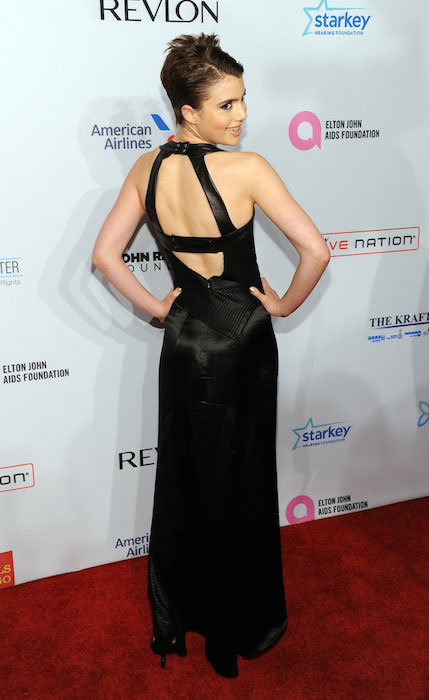 Sami Gayle during 2013 Elton John AIDS Foundation Benefit.