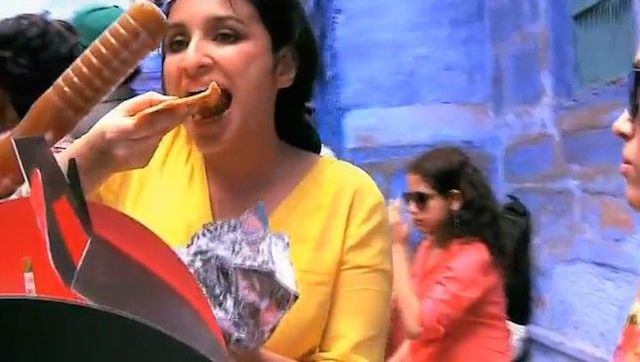 Parineeti Chopra eating her diet