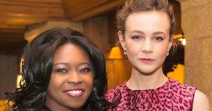 Actresses Taylor Re Lynn and Carey Mulligan