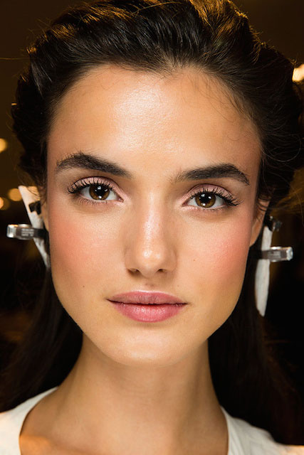Blanca Padilla during Victoria's Secret Fashion Show 2014 Backstage.