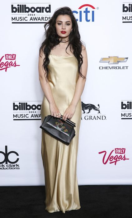 Charli XCX during 2014 Billboard Music Awards.