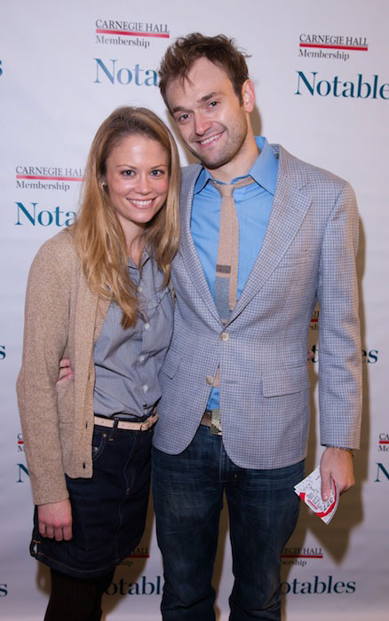 Claire Coffee and Chris Thile.