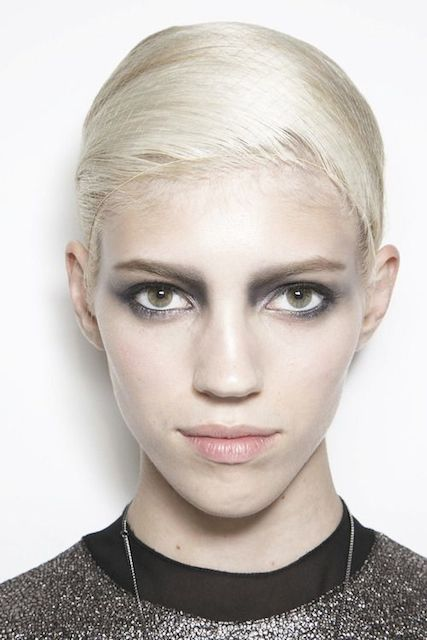 Devon Windsor face closeup
