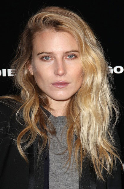 Dree Hemingway at Diesel Black Gold Fashion Show in New York.