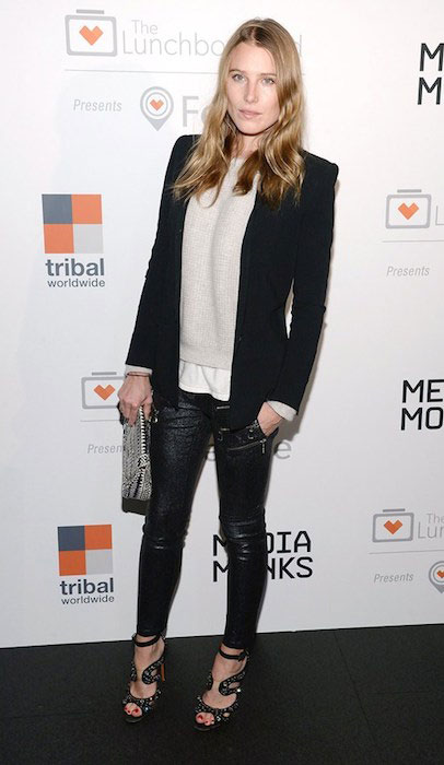 Dree Hemingway at the Lunchbox Fund Fall Fete.