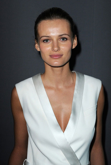 Edita Vilkeviciute at Paris Haute Couture Fashion Week 2014.