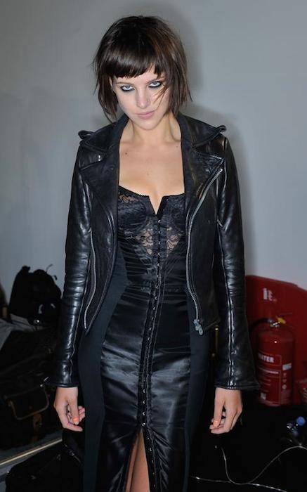 Eliza Cummins during London Fashion Week Spring / Summer 2012.