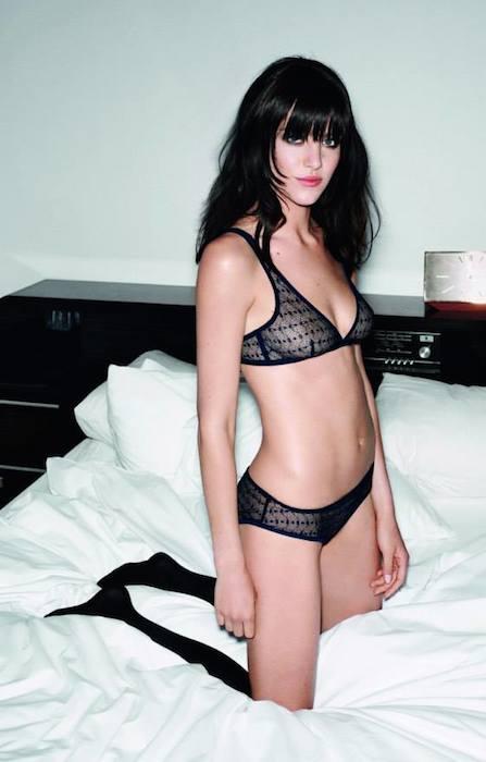 Eliza Cummins for Princesse Tam Tam Winter 2013 Collection.