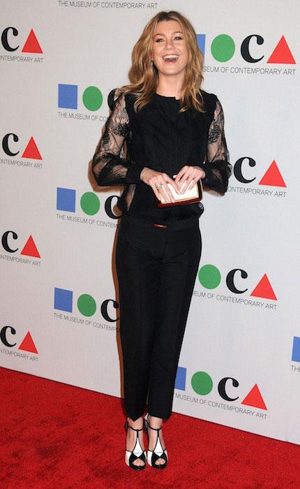 Ellen Pompeo at MOCA Gala 2013.