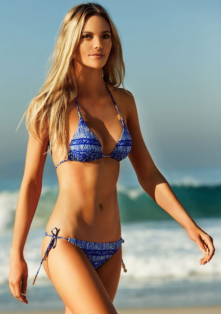 Fabiana Semprebom for VIX Swimwear, representing their Summer 2014 Collection.
