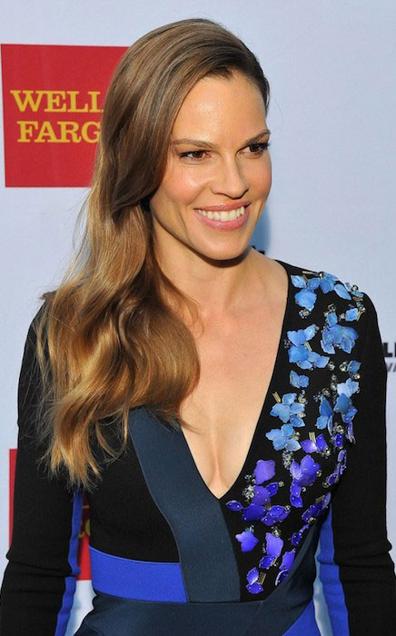 Hilary Swank at 2014 Mill Valley Film Festival Opening Night Gala.
