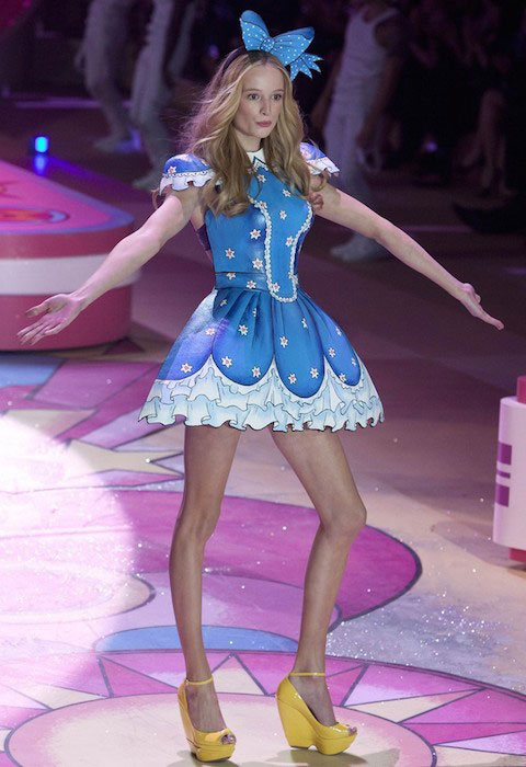 Maud Welzen during 2012 Victoria's Secret Fashion Show.