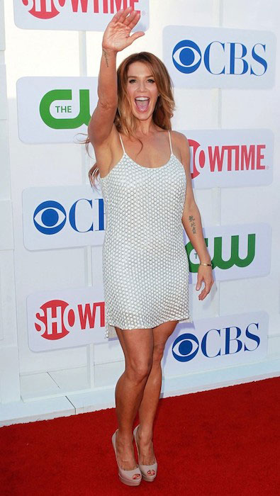 Poppy Montgomery during CW Summer 2012 Press Tour.