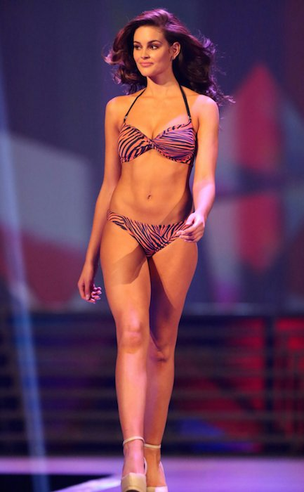 Miss South Africa Winner, Rolene Strauss in Swimsuit.