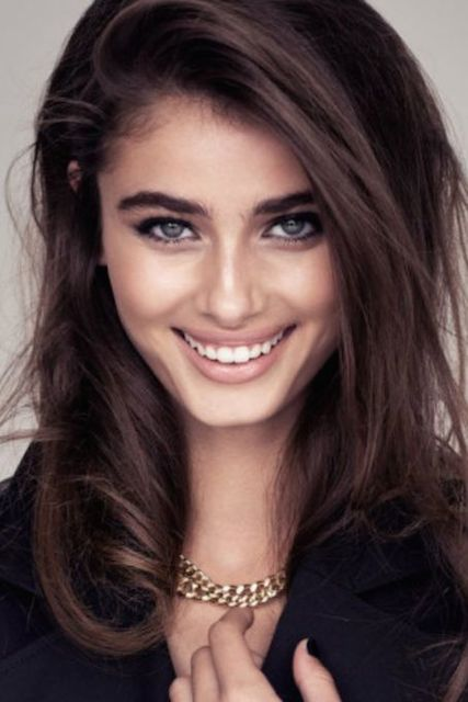 Taylor Hill for H&M Spring 2014 Collection.