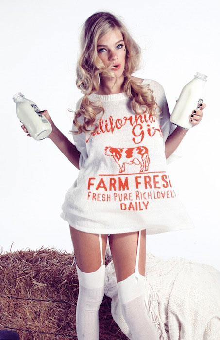 Valerie van der Graaf for WILDFOX Hello Sailor.