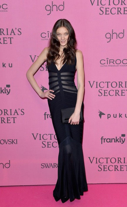 Yumi Lambert at the 2014 Victoria's Secret Fashion Show After Party.