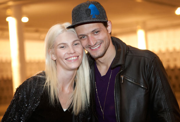 Aline Weber and Matheus Strapasson.