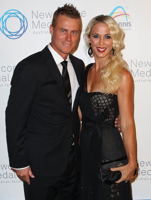 Bec Hewitt and Lleyton Hewitt.