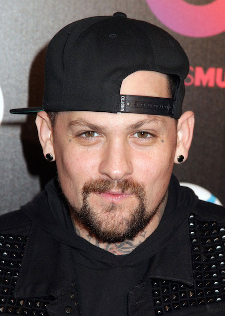 Benji Madden at Beats by Dre Music Launch Grammy Party in Los Angeles in January 2014.