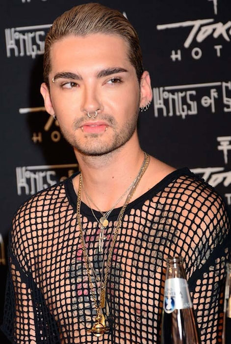 Bill Kaulitz piercings