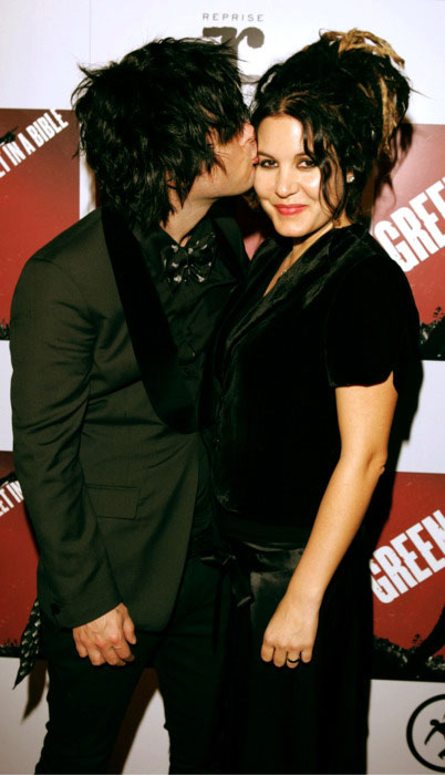 Billie Joe Armstrong and Adrienne Nesser.